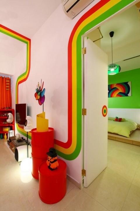 La casa Arco Iris, una propuesta fresca y diferente11