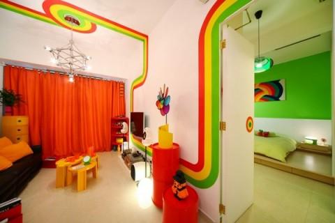 La casa Arco Iris, una propuesta fresca y diferente12