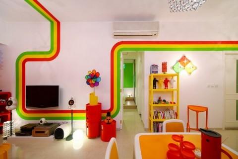 La casa Arco Iris, una propuesta fresca y diferente13