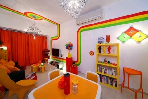 La casa Arco Iris, una propuesta fresca y diferente17
