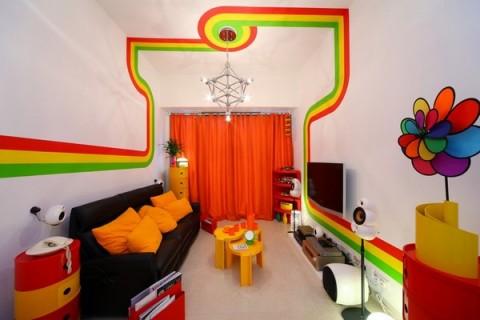 La casa Arco Iris, una propuesta fresca y diferente18