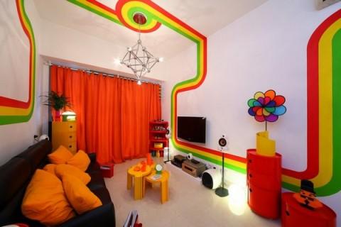 La casa Arco Iris, una propuesta fresca y diferente19