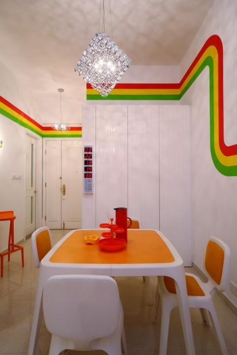 La casa Arco Iris, una propuesta fresca y diferente22