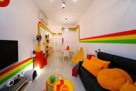 La casa Arco Iris, una propuesta fresca y diferente23