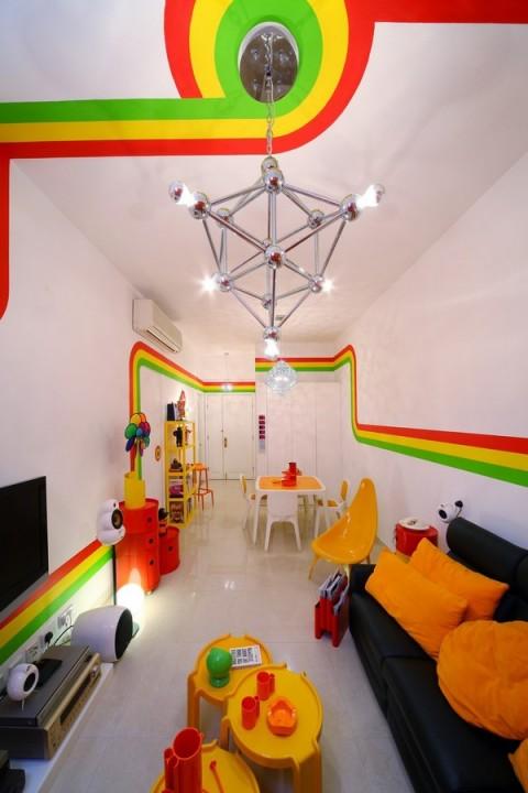 La casa Arco Iris, una propuesta fresca y diferente24