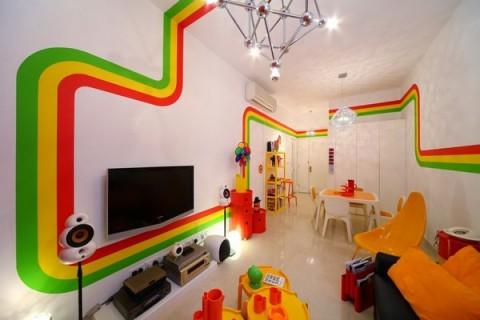 La casa Arco Iris, una propuesta fresca y diferente25