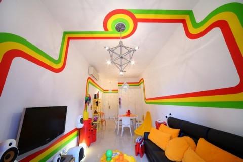 La casa Arco Iris, una propuesta fresca y diferente27