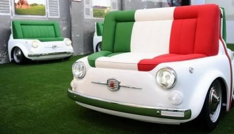 Mobiliario inspirado en el Fiat 500-01