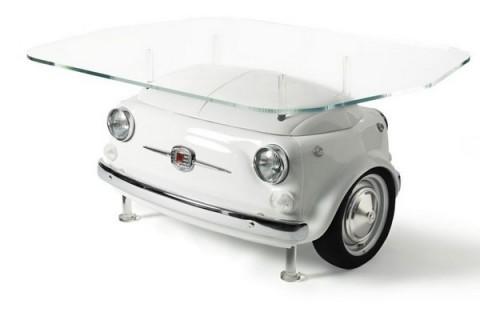 Mobiliario inspirado en el Fiat 500-02
