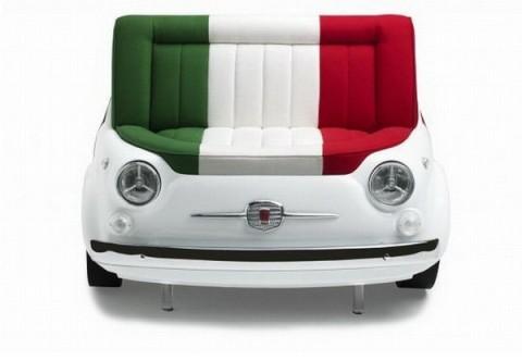Mobiliario inspirado en el Fiat 500-04