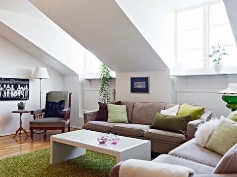 Apartamentos vintage y moderno en perfecta armon a for Apartamentos disenos modernos