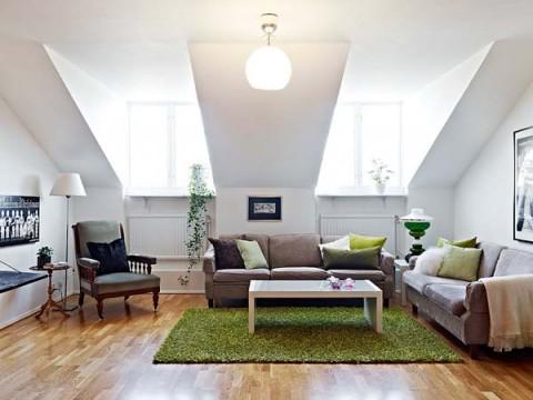 apartamentos vintage y moderno en perfecta armon a. Black Bedroom Furniture Sets. Home Design Ideas