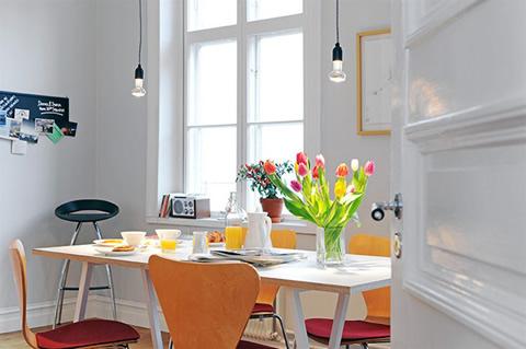 Apartamentos armonía y color1