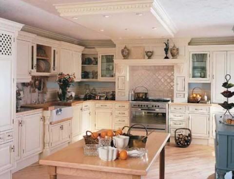 Cocinas cl sicas para todos los gustos for Amoblamiento dormitorios matrimoniales