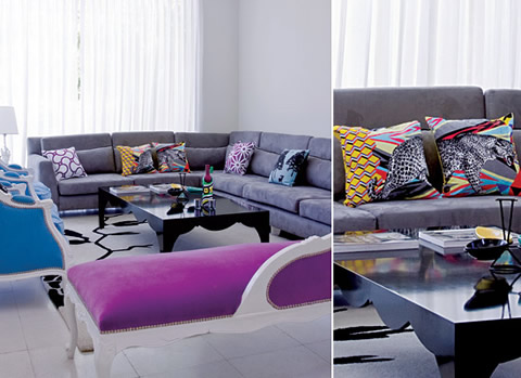 Cojines para renovar tu sala for Salas con cojines en el piso