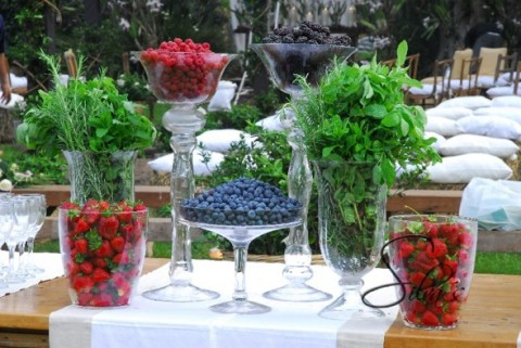 Decoraci n de una fiesta de casamiento con estilo campestre - Decoracion rustica campestre ...