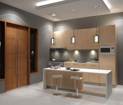 Dise os de cocinas modernas que impactan for Diseno de cocinas modernas