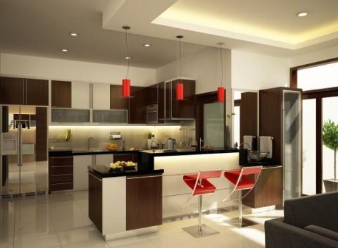 Dise os de cocinas modernas que impactan - Cocinas modernas de diseno ...