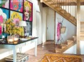 imagen Una casa rural de estilo rústico y muy colorida