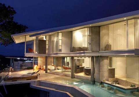 Casas una residencia en Costa Rica con vistas impresionantes-19