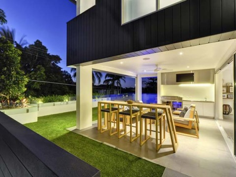 Casas sofisticada moderna y lujosa residencia for Galerias casas minimalistas