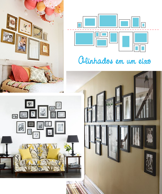 Como decorar tus paredes y no morir en el intento - Decorar pared con cuadros ...