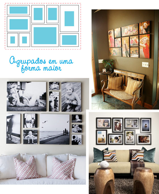 Como decorar tus paredes y no morir en el intento - Ideas para decorar una pared de salon ...
