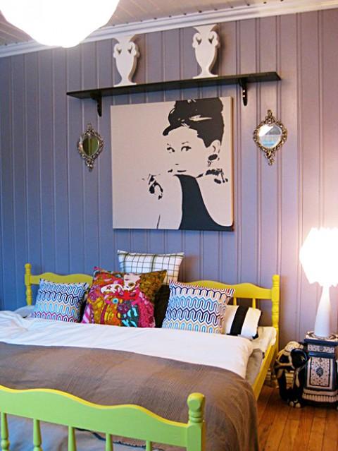 El apartamento de una joven estudiante for Decoracion habitacion estudiante