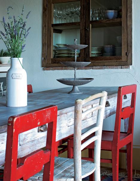 El estilo rústico en una residencia italiana-01