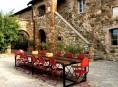 imagen El estilo rústico en una residencia italiana