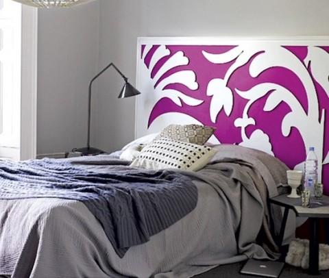 Ideas de cabeceros de camas - Cabeceros de cama originales pintados ...