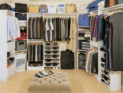Ideas para organizar o dise ar tu closet y vestidor for Planimetrie della casa con 2 master suite