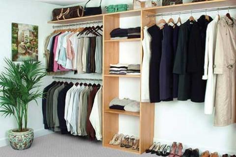 Ideas para organizar o dise ar tu closet y vestidor for Disenos de roperos para dormitorios pequenos