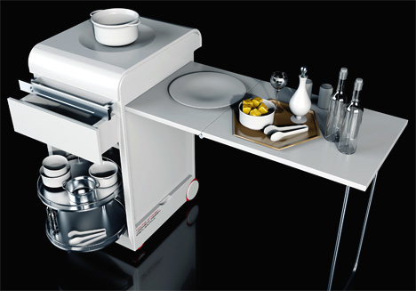 Moving Kitchen, ideal para las cocinas modernas2