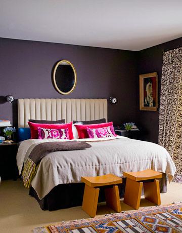 Rojo, rosado y lila en las habitaciones-08