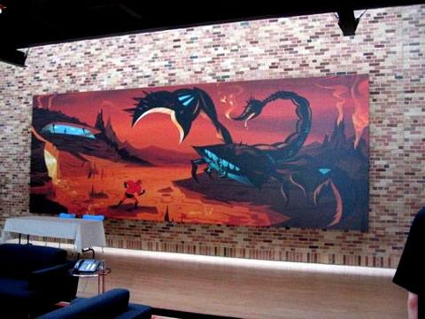 los interiores de los estudios de Pixar-02