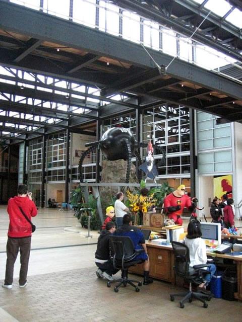 los interiores de los estudios de Pixar-13
