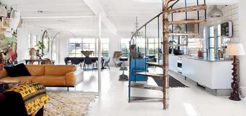 Diseño e inspiración de una casa en Suecia
