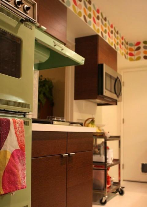 El despues de una remodelacion total de una cocina