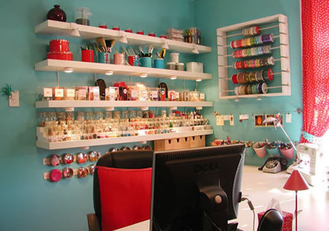 Ayuda con mini estudio - Small craft space ideas plan ...