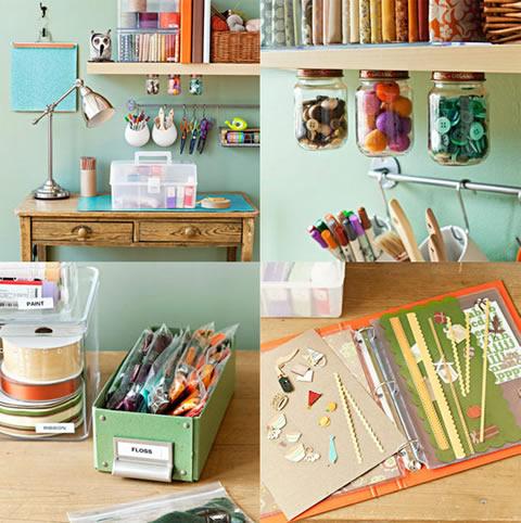 Ideas para Organizar el Taller en Casa