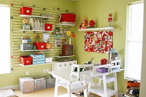 prácticas ideas para organizar tu taller en casa