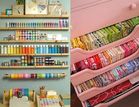 Ideas para organizar el taller en casa for Ideas para organizar tu cuarto