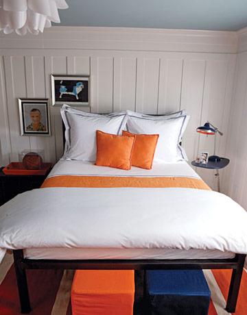 Habitaciones en Amarillo, Naranja y Tostado - Propuesta 3