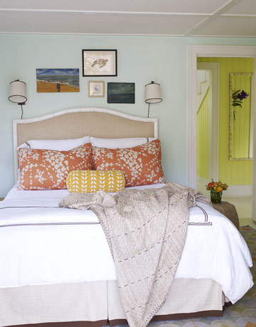 Habitaciones en Amarillo, Naranja y Tostado - Propuesta 10