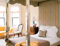 imagen 13 propuestas de habitaciones en amarillo, naranja y tostado
