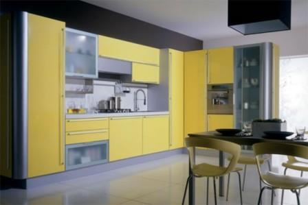 Ideas de Cocinas en Amarillo - Propuesta 04