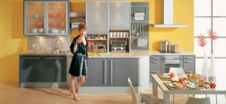 Ideas de Cocinas en Amarillo - Propuesta 05