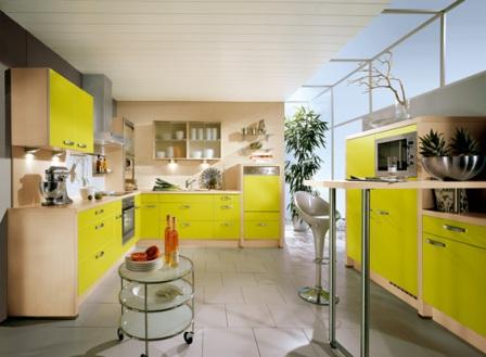 Ideas de Cocinas en Amarillo - Propuesta 06