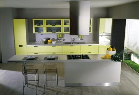 Ideas de Cocinas en Amarillo - Propuesta 07